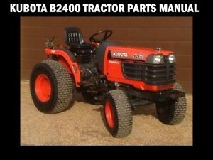 Strange Kubota B2400 Parts Manuals 550Pg For B 2400 Hsd Hse Tractor Service Wiring Database Ilarigelartorg