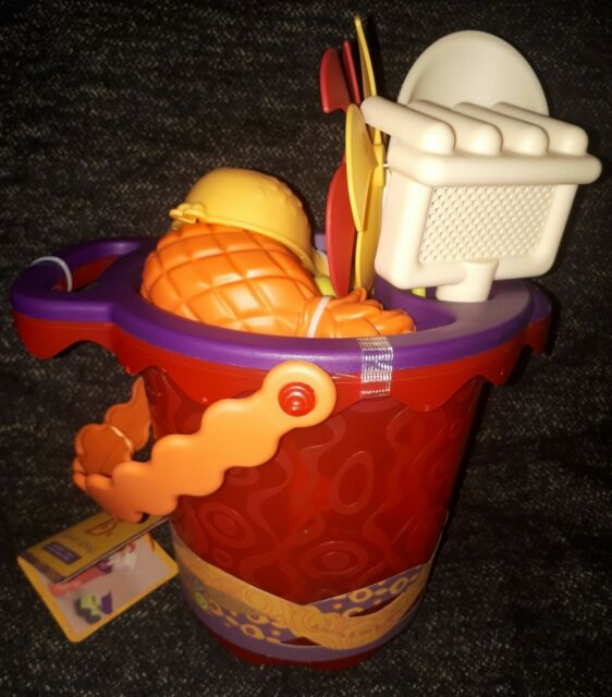 Battat B Sands Ahoy Medium Bucket Set Navy For Sale Ebay