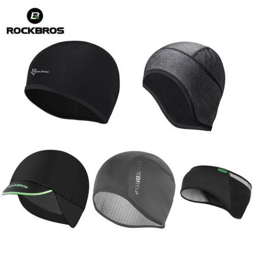 RockBros Winter Outdoor Sports Cycling Cap Windproof Hat /& Earmuffs One Size