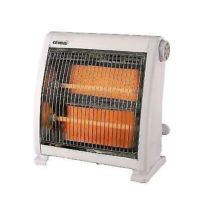 Optimus H-5511 800W Quartz Radiant Heater - White