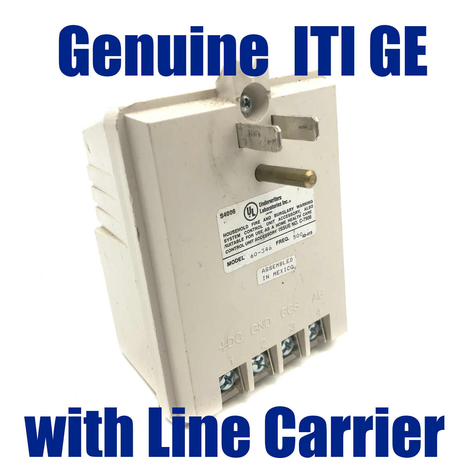 Original ITI GE 60-346-500 Plug In Transformer with Line Carrier