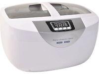 New 170 Watt 5.29 Pints (2.5 Liter) Digital Ultrasonic Cleaner w/ Timer Heater