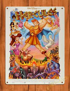Details About Tin Sign Hercules Disney Movie Cartoon Art Wall Decor