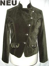 NEU = SAMTBLAZER Uniform BLAZER Jacke SAMT L 40 edel grün Military Jacket Sakko