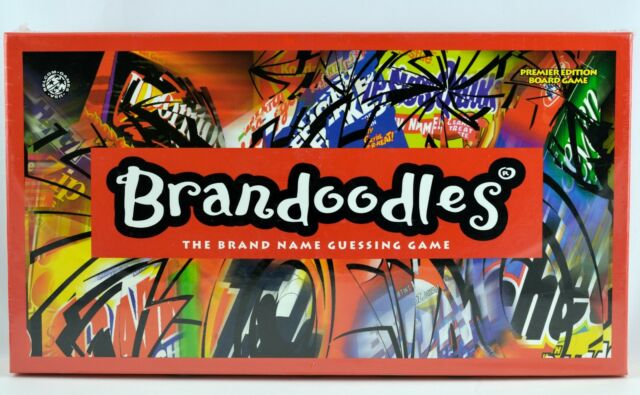 Brandoodles The Brand Name Guessing Game Premier Edition 2006 Factory Sealed