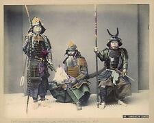 Samurai In Armour Kusakabe Kimbei Japan 19thc Classic Reprint Photo 6x5 inch
