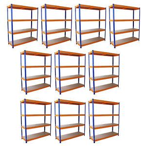 10-Estanterias-S-Rax-Acero-Inoxidable-Sin-Tornillos-Azules-y-Naranjas-150cm