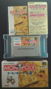 Monopoly-Game-2-Super-Famicom-SFC-1995-SHVC-AMLJ-JPN-Japan-Import