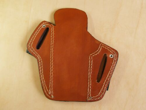 Leather Dual IWB OWB Carry Pancake Holster for 1911 /& Full Size Semi Autos