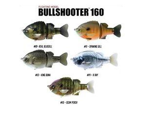 DEPS-BULLSHOOTER-160mm-FLOATING-TOPWATER-WAKEBAIT-SWIMBAIT-BASS-SELECT-COLOR