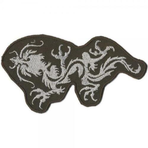 Aufnäher Gr Drachen Tattoo ca 11,5 x 6 cm 04623 Patches Stick  ...