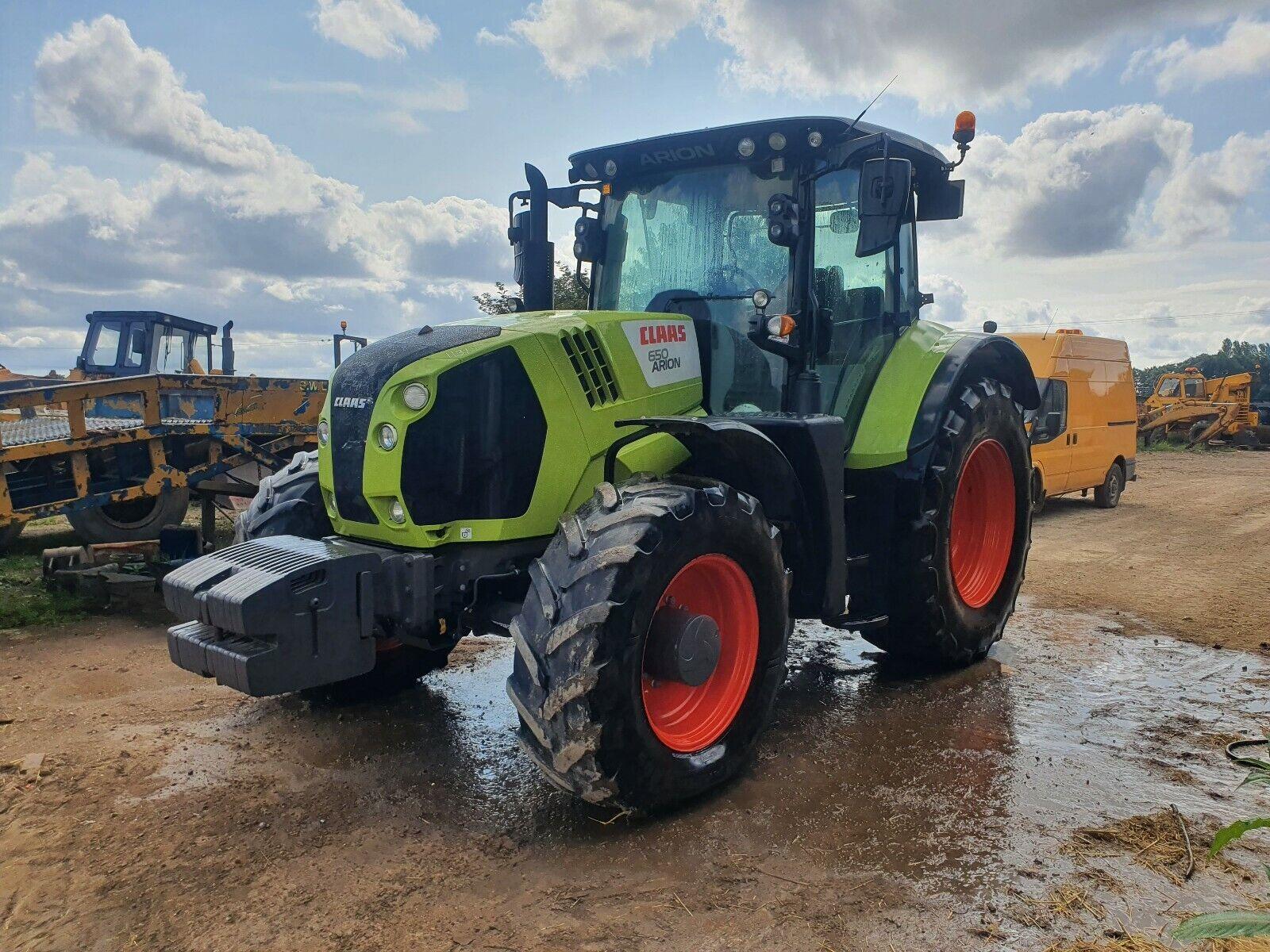 2018 Claas Arion 650 4x4 tractor 18 reg , 50k, air brakes
