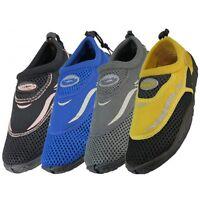 Men's Water Shoes/Aqua Socks/Pool Beach Surf Slip on Yoga Dance Exercise Sizes