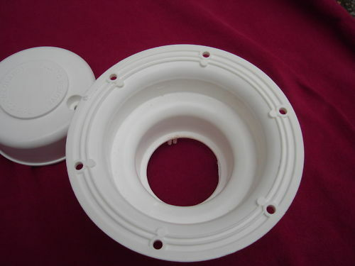 LOT of 2 RV sewer holding tank ROOF VENT CAP camper trailer mobile home vent