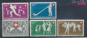 Schweiz-555-559-postfrisch-1951-Pro-Patria-7497669
