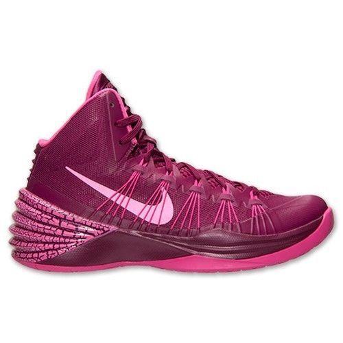 Nike Hyperdunk 2013 Raspberry Pink Men's Basketball Shoes Size 13