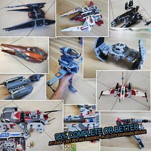 LEGO-1KG-x850pcs-STAR-WARS-SUPRISE-PACKS-INCLUDES-COMPLETE-SETS-PARTS