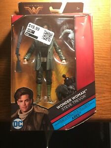 DC Comics Multiverse STEVE TREVOR Figure ~ 6 Inch ~ With BAF Ares Parts