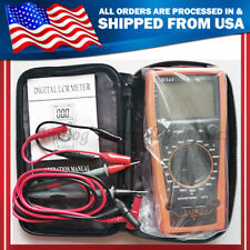 Dm4070 Lcr Meter Multimeter Inductance Capacitance Ohm Usa Seller