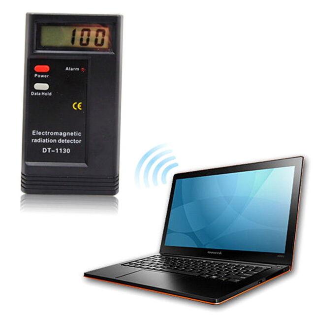 Digital LCD Electromagnetic Radiation Detector EMF Meter Dosimeter Tester GG