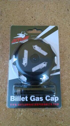Black Billet Aluminum Gas Cap Yamaha Raptor 50 80 700 Grizzly 125 Breeze 100
