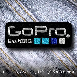 Go-Pro-PATCH-IRON-ON-Clothes-Jacket-Denim-Hat-Cap-DIY-Accessory-Camera-Adventure