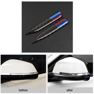 M-Sport-Carbon-Fiber-Rearview-Mirror-Anti-Rub-Strip-Frames-For-BMW-1-2-4-GT-X1