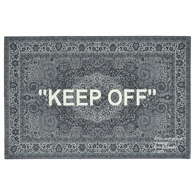 Ikea X Virgil Abloh Off White Markerad Keep Off Persian Carpet