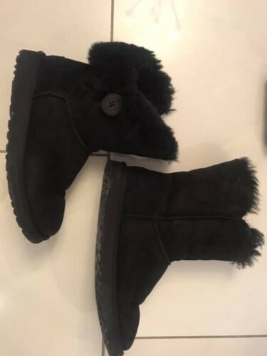 Womens 5 5 Boot Ugg Size Ankle Black 6XnAqwr6