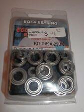 Boca Bearing Economy Bearing Set Thunder Tiger EB4 S2 (16pcs) #59A-25BK NIP