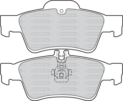 REAR DISCS AND PADS FOR MERCEDES-BENZ E-CLASS E320 TD 2003-09 OEM FRONT W211
