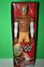 "WWE Sin Cara 12""  Wrestling Action Figure Yellow Mattel 2015"