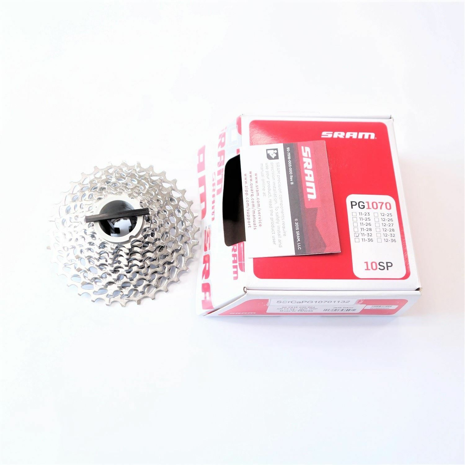 ALL NEW SRAM Force MTB Road Bicycle PG-1070 10 Spd Cassette 11-32T