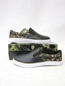 BK-Sneaker-Slipon-Schuh-Schwarz-Camouflage-5005