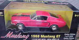 1968-Ford-Mustang-GT-Red-1-18-Ertl-American-Muscle-33210