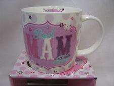 New BGC Fine China Mug Beaker Coffee Tea Cup Best Mam Ever KL0023