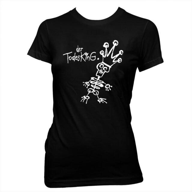 Der Todesking (aka The Death King) - Women's Hand Screened, 100% Cotton T-Shirt