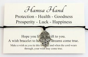 Hamsa-Hand-Protection-Health-Goodness-prosperity-Luck-Happiness-wish-bracelet