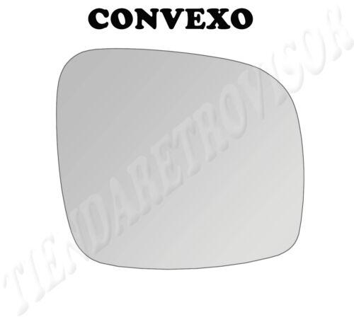 CHRYSLER VOYAGER 2008 CRISTAL RETROVISOR DERECHO CONVEXO ESPELHO MIROIR GLACE