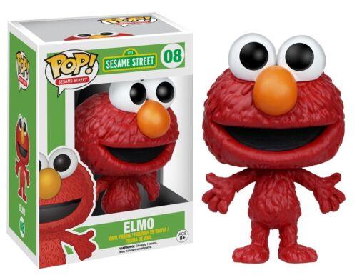 Sesame Street #08 Vinyl Figur Funko Elmo Sesamstrasse POP