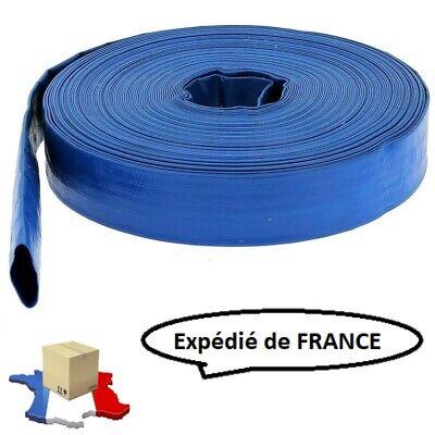 """Tuyau de refoulement pour pompe à eau 40mm 10m ou 25m ou 50m 1 1//2/"""""""