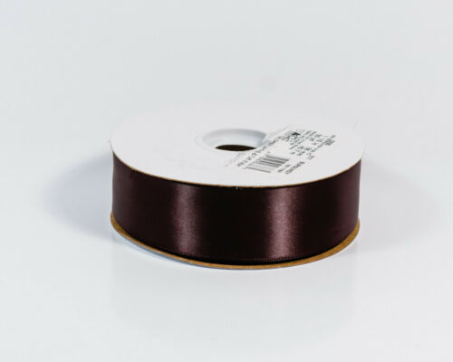 """Burgundy wide x 50 yd Offray 2205 Double Face Satin Craft Ribbon 1 1//2/"""" in"""