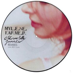 Mylene-Farmer-12-034-C-039-Est-Une-Belle-Journee-Remixes-Picture-Disc-France-M-M