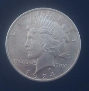 Authentic-US-Peace-Silver-Dollar-1924-P-1921-1935
