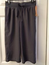 046a789966ae item 1 NWT C9 by Champion Semi Fitted Low Rise Woven Capris Capri Yoga  Pants Gray Black -NWT C9 by Champion Semi Fitted Low Rise Woven Capris Capri  Yoga ...