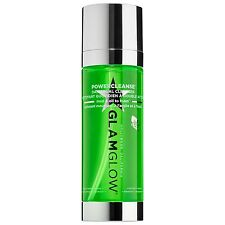 GLAMGLOW Powercleanse Daily Dual Cleanser 5 oz/150g NEW Unboxed *scratched cap*