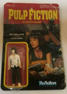 DAMAGED-PACKAGING-Pulp-Fiction-Mia-Wallace-Funko-ReAction-3-75-034-Action-Figure