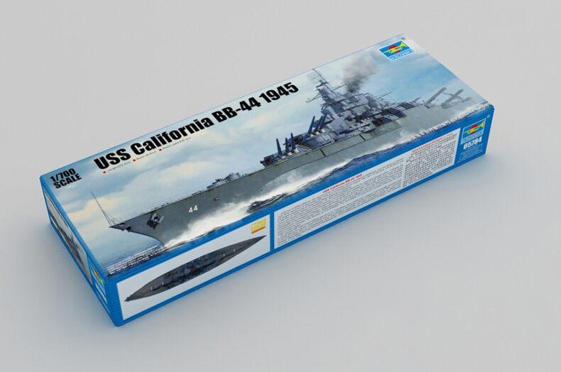 05784 Trumpeter 1 700 USS H.M.Ship California BB-44 1945 Model Battleship Kit