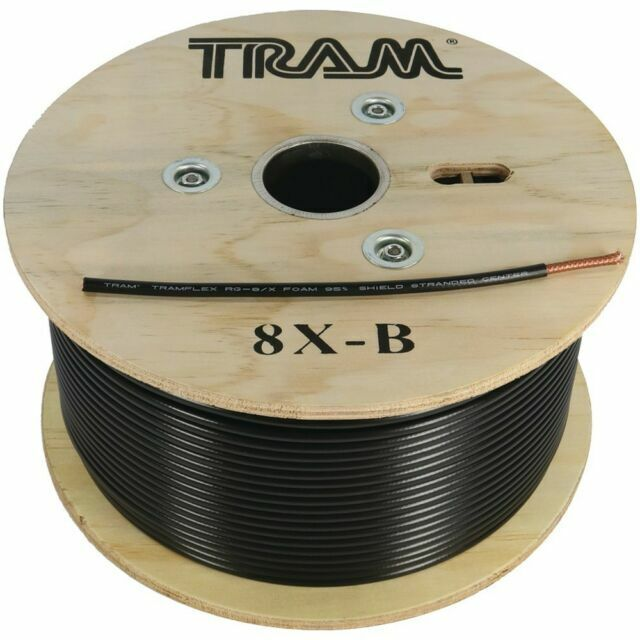 Tram 8x-b Rg-8x 100ft section Tramflex Coax Mini 8. Buy it now for 42.45