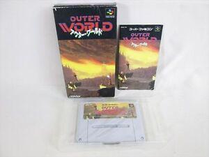 OUTER-WORLD-Item-Ref-ccc-Super-Famicom-Nintendo-Import-JAPAN-Game-sf